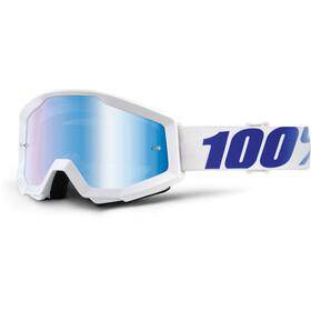 100% Strata Goggles hvid